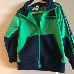 ADIDAS Kids Toddler Zip Up Jacket